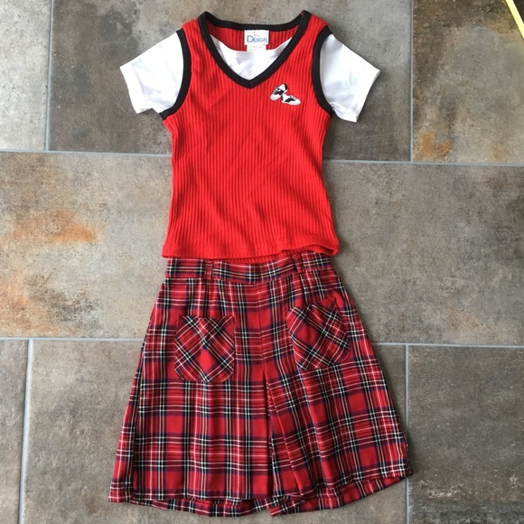 Other - Vintage girls plaid set